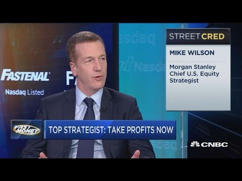 Take profits here and keep some powder dry: Morgan Stanley's top strategist