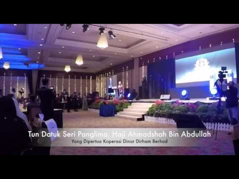 Ucapan dari Yang Dipertua Tun Dato Seri Panglima, Haji Ahmadshah - YDP Kodinar Berhad