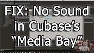FIX: No Sound in Cubase's