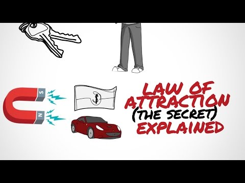 BECOME SUCCESFUL - THE LAW OF ATTRACTION EXPLAINED ANIMATED (THE SECRET)