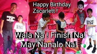 Wala na Finish na ! May nanalo na ! Kalye Irving x The Mark Clown And Magician at Zscarlett 1st Bday