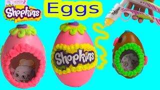 Shopkins Sugar Easter Egg Inspired Playdoh Frosting Dohvinci Diy Play Doh Vinci Fun Season 2 Craft