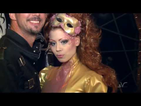 MONTREAL FETISH WEEKEND 2011 FLASHBACK VIDEO WITH DAMIEN & MIRADOM LATEX FETISH CATSUIT