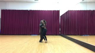 Argentine Tango private class with Brianna October 2018.3