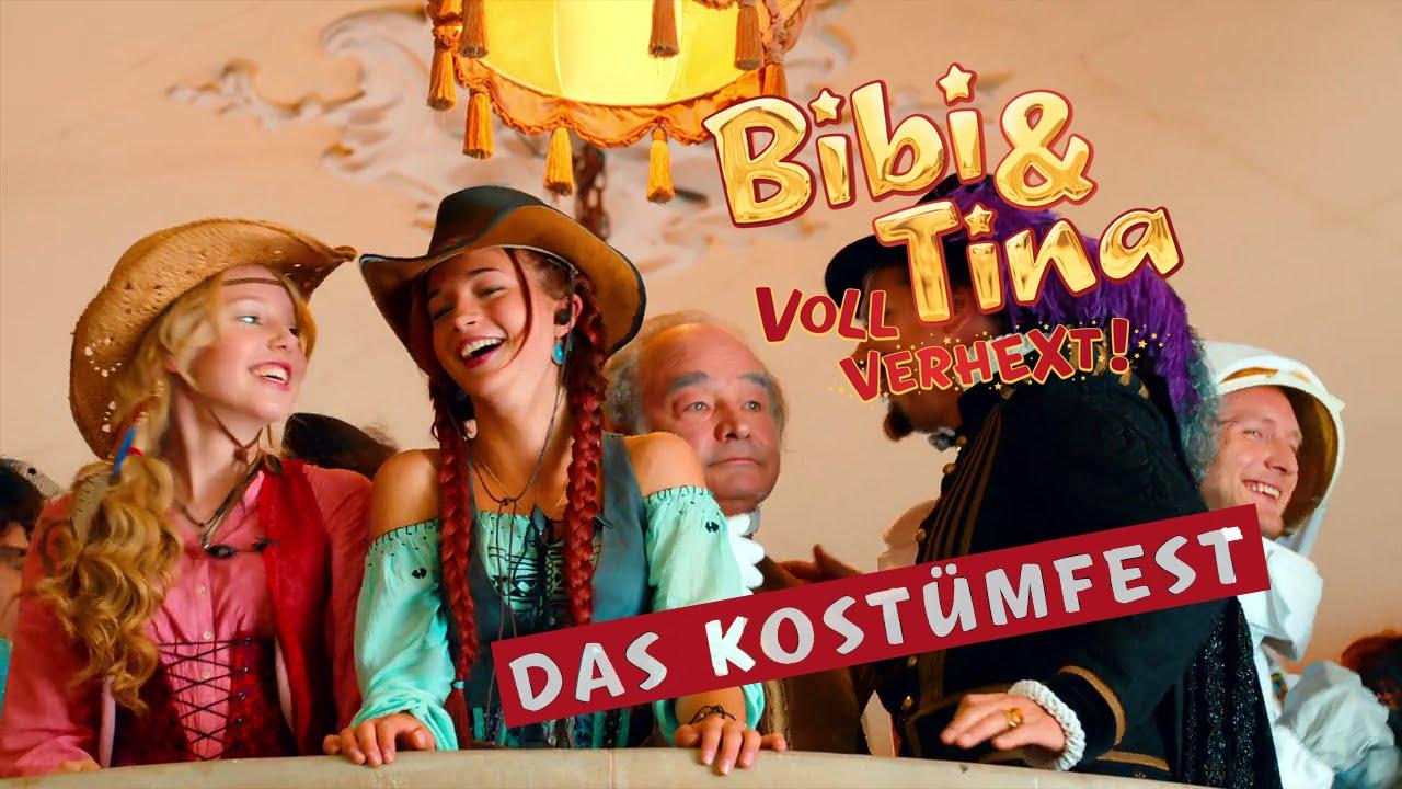 Bibi Tina 2 Voll Verhext Hinter Den Kulissen Beim Kostümfest