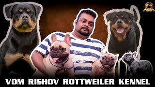 ROTTWEILER BREED ! VomRishov Kennel Rottweiler Dog Breeder In India | Scoobers