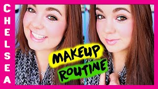 WINTER Makeup ROUTINE for School! Thumbnail