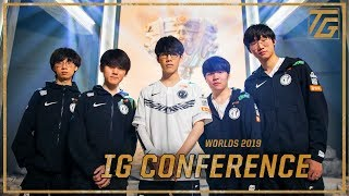 IG Press Conference - Worlds 2019 Semifinals