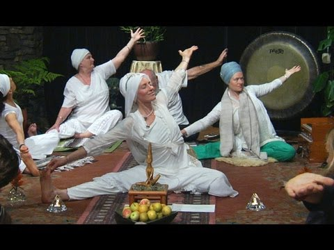 Yoga at Home with Naomi Charanpal Kaur on Kundalini Live