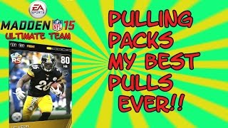 Madden Ultimate Team 15 Pulling Exactly What I Want Future 2k Rusher NFL MUT 15