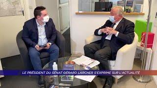 Yvelines | Le président du Sénat Gérard Larcher s'exprime sur l'actualité
