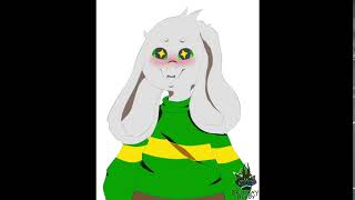 Asriel Blink Animation