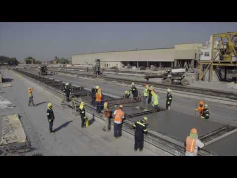 Oldcastle Precast - The Making Of Roadway Slabs For 210 Highway Project