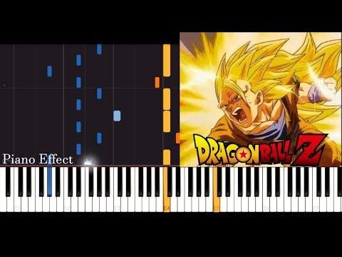 Dragon Ball Z - Ascension (SSJ3 Goku) (Piano Tutorial Synthesia)