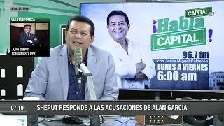 """Juan Sheput: """"Es Obvio Que Alan García Hace Tiempo Está Desconectado De La Realidad"""""""