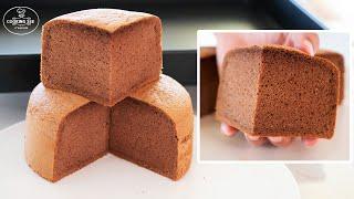 (실패없는 베이킹) 초코 제누와즈 만들기, 케이크 시트…