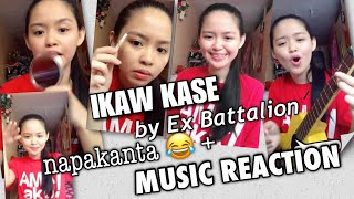 IKAW KASE by Ex Battalion |  MUSIC REACTION  + Sing Along + Ukulele Chords by Shean Casio