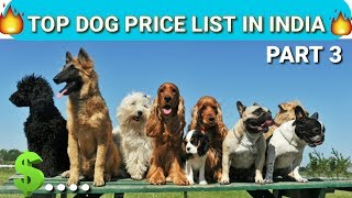 Dog Price list in India | in Hindi | dog price list