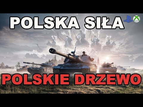 Polskie drzewo Polska siła World of Tanks Xbox One/Ps4 thumbnail