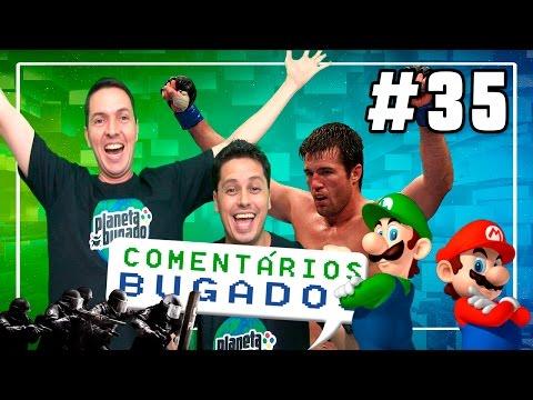 Comentários Bugados #35 - Last of US 2, Nintendo, Rainbow Six, UFC e etc...