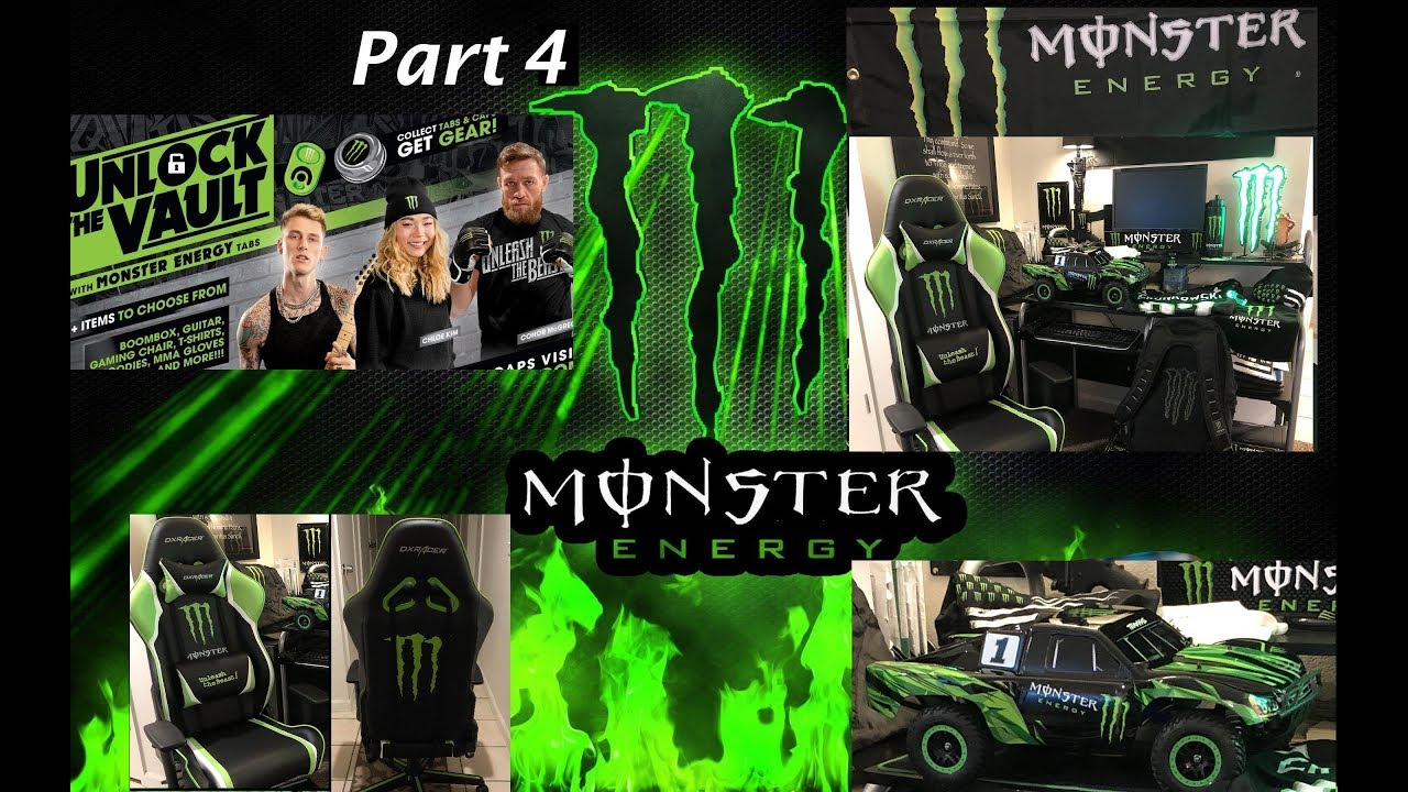 Monster Energy Gear unboxing (opening) Big Ticket items from the 2019  Unlock The Vault promotion