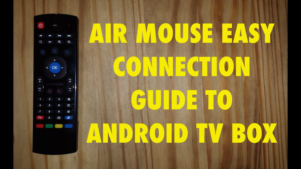 Air Mouse 24g Motion Sensing Air Mouse Remote Control Youtube