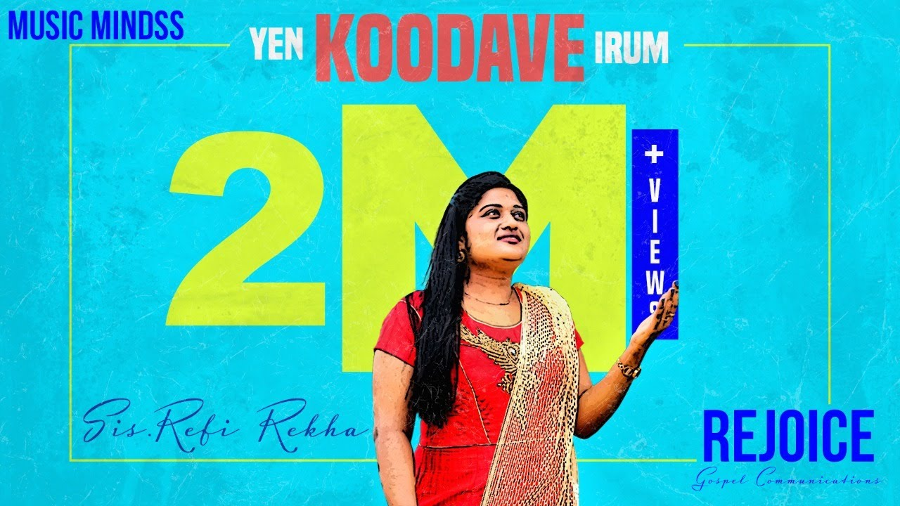 Yen Koodave Irum | Cover Song | Refi Rekha | Tamil Worship Song  | 4K
