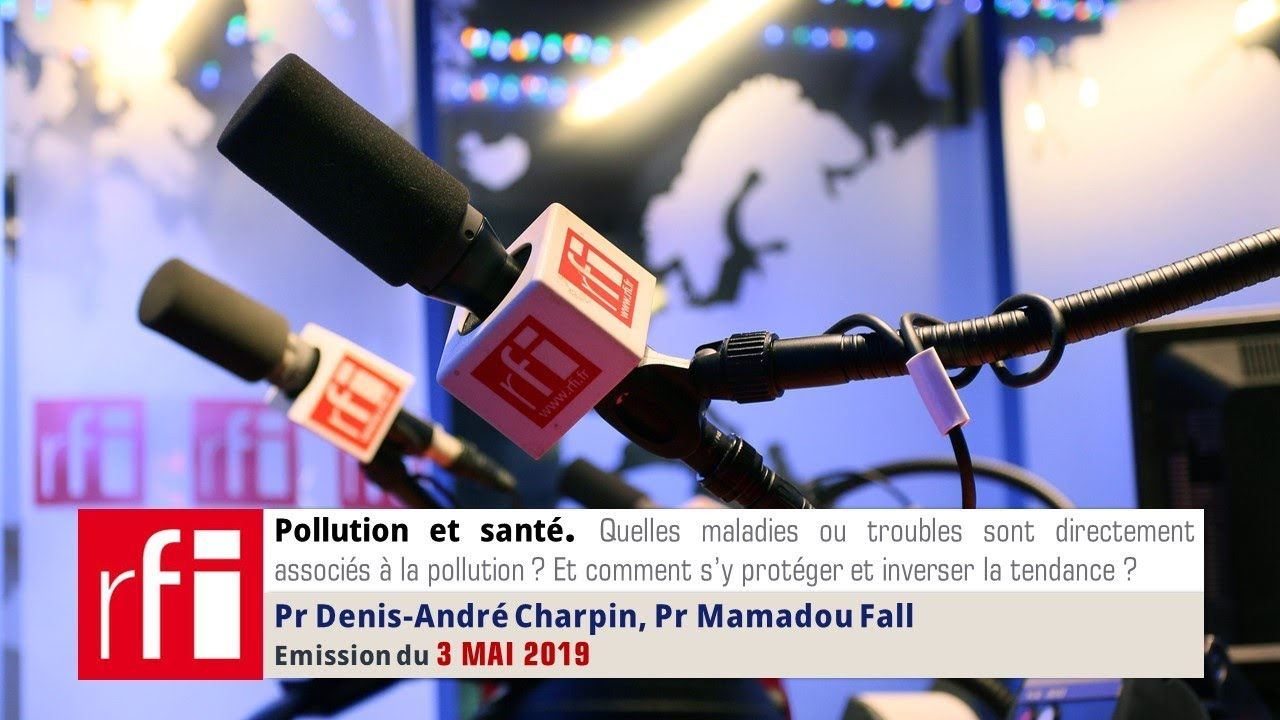 Podcast Pollution et santé du 3 Mai 2019