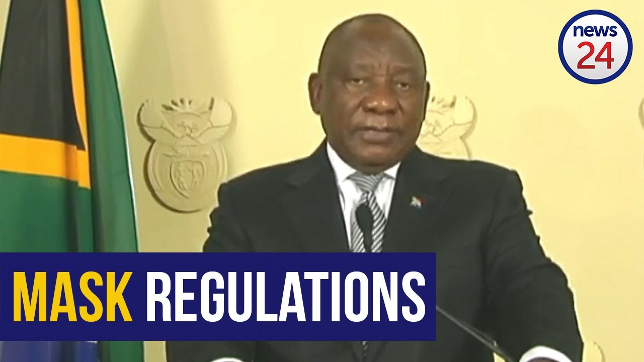 WATCH | Regulations on the wearing of masks will be strengthened - Ramaphosa - News24