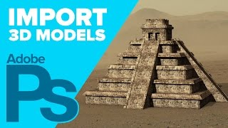 How to Import 3D Models into Photoshop