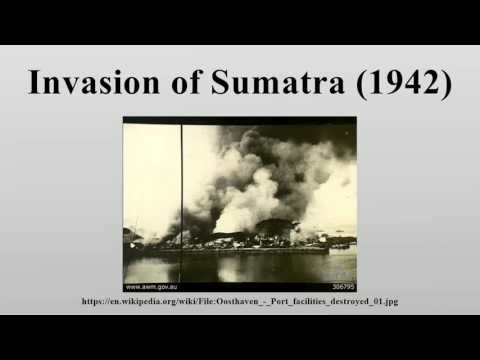 Invasion of Sumatra (1942)
