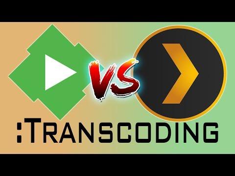 Plex vs Emby: The Transcoding Showdown