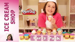 Play Doh ice cream cones - Ice Cream Shop