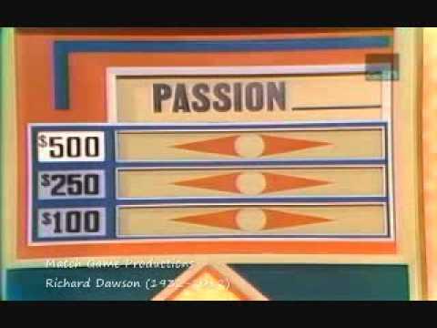 Match Game 75 Episode 498 Tribute to Richard Dawson Gene's New Mic