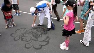 清掃クルーの即興お絵かき 2011 06 06