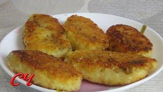 Зразы Картофельные с Грибами (Постное Блюдо)Очень  Вкусные  Сытные ! /Zrazy Potato with Mushrooms