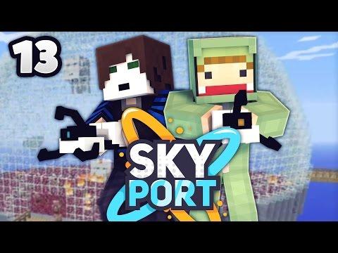 PILZ & NETHER KUPPEL GLEICHZEITIG?! - Minecraft SkyPort 2 #13 | ungespielt