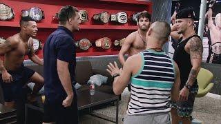 Matt Rizzo and Jamie Alvarez nearly come to blows