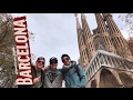 BARCELONA TO MADRID.. VLOG 🇪🇸🚆Speed Train in Spain + La Sagrada Familia y Gran Via // DAILY EP 09