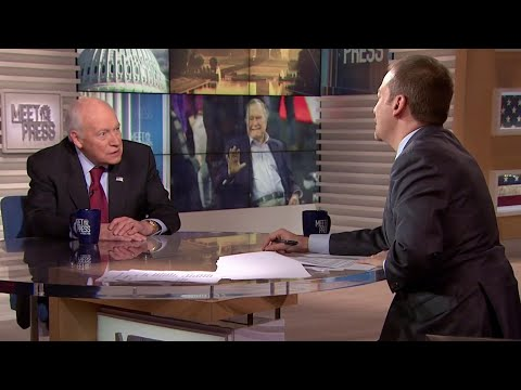 Full Cheney: Working with President Bush 'the highlight of my career' | Meet The Press | NBC News