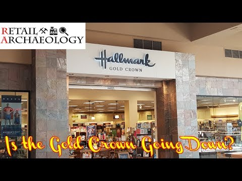 Hallmark Gold Crown Stores: Is The Gold Crown Going Down? | Retail Archaeology Mini Documentary