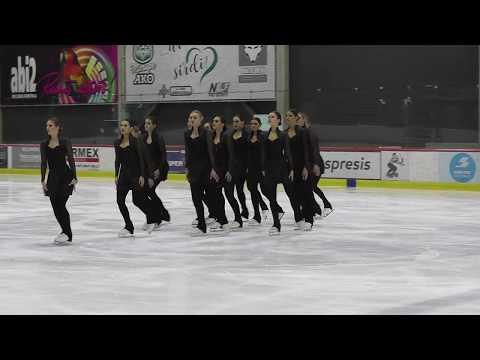 Amber, LAT, Synchronized Skating SP