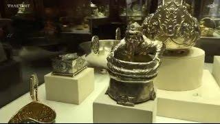 Серебряная посуда московской фабрики Фаберже. Иван Калита над сумой(, 2016-03-08T23:21:17.000Z)