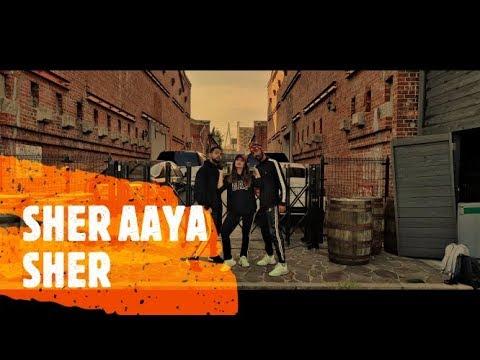 Sher Aaya Sher | Gully Boy | DIVINE | Dance Choreography || Bollyhop SR