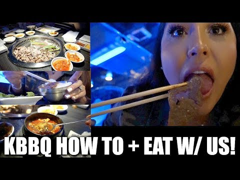 GEN KOREAN BBQ HOW TO + EAT WITH US MUKBANG!