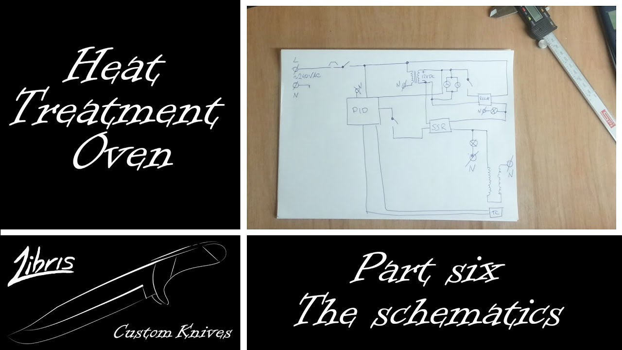 Heat Treatment Oven Build: Part 6 - The schematics - YouTube
