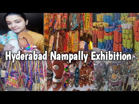 Hyderabad nampally exhibition 2019 |Numaish| 79th All india Exhibition Shopping|Shopping Guide