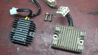 Стелс 500GT замена регулятора напряжения