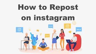 How To Repost on Instagram / Repost Instagram ?