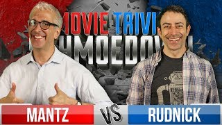 Scott Mantz VS Hal Rudnick & Jonathan Voytko VS Stacy Howard - Movie Trivia Schmoedown